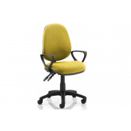 Solar 2 Lever Operator Chair (Fixed Arms)