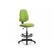 Lunar 1 Lever Draughtsman Chair (No Arms)