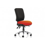 Praktikos Two Tone Medium Back Posture Operator Chair
