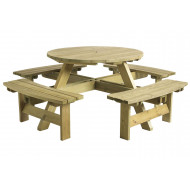 Kallora Round Picnic Table