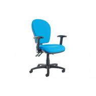 Castle Extra High Back Operator Chair Folding Arms