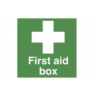 First Aid Box Safety Label Multipack