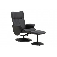 Bendell Recliner With Footstool