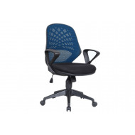 Next-Day Lattice Mesh Back Operator Chair
