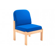 Next-Day Nimes Wood Framed Reception Side Chair