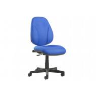 Next-Day Full Lumbar 1 Lever Operator Chair No Arms