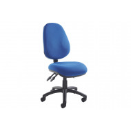 Next-Day Full Lumbar 3 Lever Operator Chair No Arms
