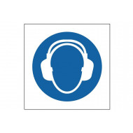 Hearing Protection Symbol Safety Sign
