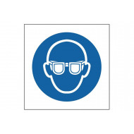 Eye Protection Symbol Safety Sign
