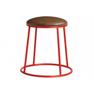 Next-Day Mulluna Low Stool With Upholstered Seat