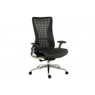 Junto Mesh Back Chair (White Frame)