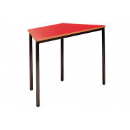 Trapezoidal Fully Welded Classroom Tables 14+ Years