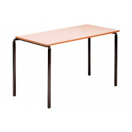 Rectangular Crush Bent Classroom Tables 6-8 Years