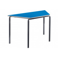 Trapezoidal Crush Bent Classroom Tables 3-4 Years