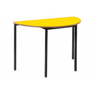 Semi-Circular Fully Welded Classroom Tables 6-8 Years