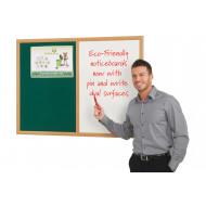 Eco Friendly Dual Noticeboard