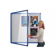 Coloured Edge Tamperproof Noticeboards