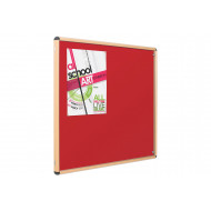 Eco-Colour Resist-A-Flame Wood Effect Tamperproof Noticeboards