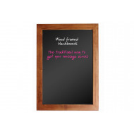 Wood Framed Chalkboard