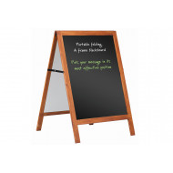 Wood Framed Chalkboard A Frame