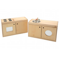 Twin Kitchen Role Play Unit