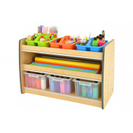 Junior Arts And Craft Storage Unit With 2 Shelves