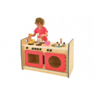 Combination kitchen role play unit