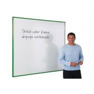 Shield Coloured Framed Magnetic Whiteboards
