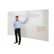 Write-On Whiteboard Wall