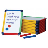 Coloured Edge Laptop Whiteboard