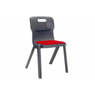 Titan posture chair with upholstered seat