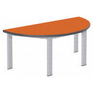 Elite Static Height Semi Circular Classroom Tables 11-14 Years