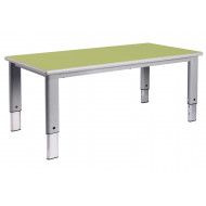 Elite Height Adjustable Rectangular Classroom Table