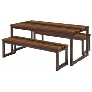 Premium Solid Wood Dining Tables & Benches