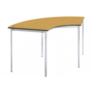 Rt32 Arc Shaped Classroom Tables 11-14 Years