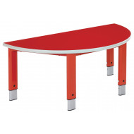 Start Right Semi Circular Height Adjustable Table