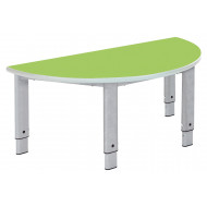 Elite Height Adjustable Semi Circular Classroom Table