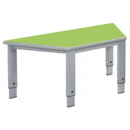Elite Height Adjustable Trapezoidal Classroom Table