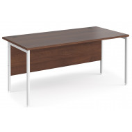 Value Line Deluxe H-Leg Rectangular Desk (White Legs)