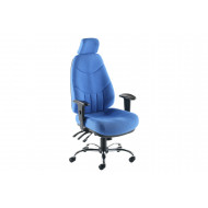 Nive High Back Fabric Posture Chair With Headrest