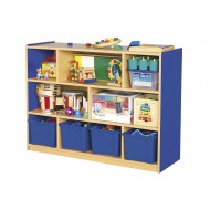 Milan 8 Compartment Cabinet With 4 Trays