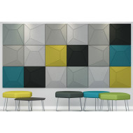 Pack Of 9 Acoustek Milano Acoustic Wall Panels