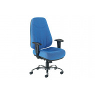 Nive High Back Fabric Operator Chair