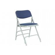 Pack Of 4 Upholstered Folding Chairs