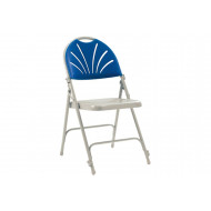 Pack Of 4 Steel Comfort Folding Chairs