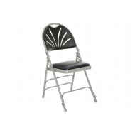 Pack Of 4 Deluxe Padded Folding Chairs