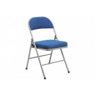 Pack Of 4 Deluxe Comfort Folding Chairs