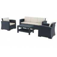 Medea 3 Seater Lounge Set