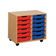 12 Shallow Tray Storage Unit