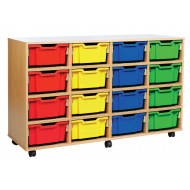 16 Deep Tray Storage Unit